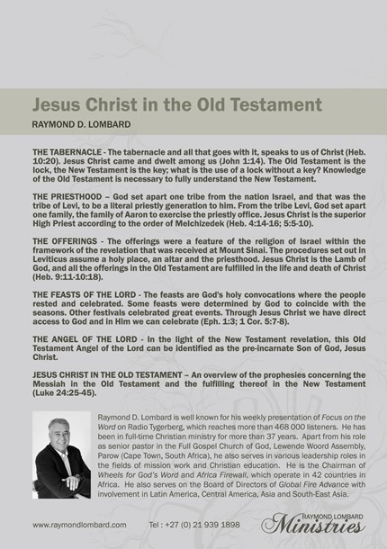 Jesus Christ in the Old Testament-44